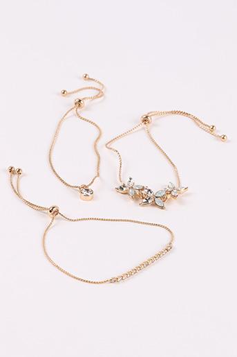 Bracelet beige CLAIRE'S pour femme