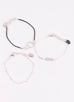 Bracelet gris CLAIRE'S pour femme