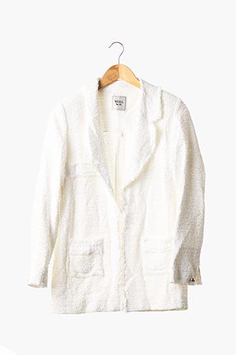 Veste chic / Blazer blanc WEILL pour femme
