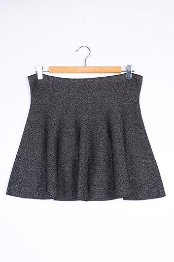 Jupe courte noir CLOCKHOUSE pour femme
