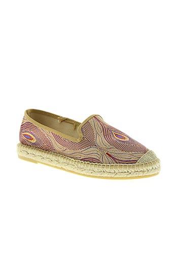 kanna chaussures femme de couleur violet