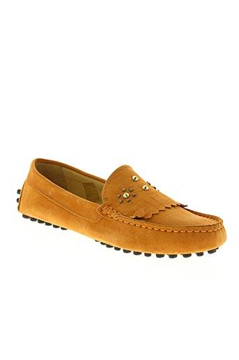 xavier danaud chaussures femme de couleur orange