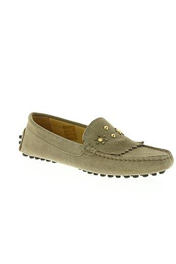 xavier danaud chaussures femme de couleur beige