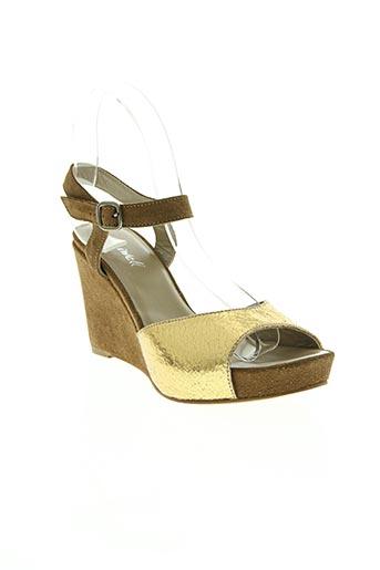 aliwell chaussures femme de couleur marron