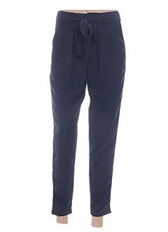 Pantalon 7/8 bleu TIFFOSI pour femme