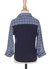 Chemise manches longues bleu ABSORBA pour garçon seconde vue