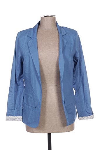 Veste casual bleu ET COMPAGNIE pour femme