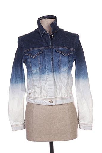 Veste en jean bleu ACNE STUDIOS pour femme