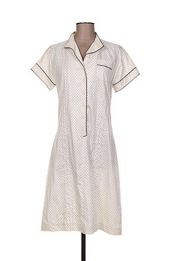 Robe mi-longue blanc ACNE STUDIOS pour femme