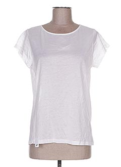 T-shirt manches courtes blanc GOLDEN GOOSE DELUXE BRAND pour femme