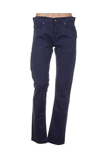 Pantalon casual bleu BIAGGIO pour femme