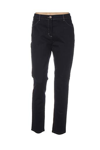 Pantalon casual bleu IBER JEANS pour femme