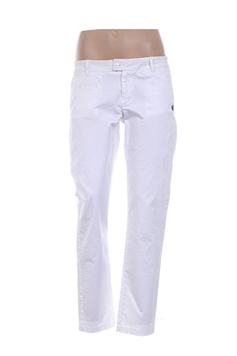 Pantalon casual blanc BLAUER pour femme