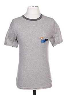 T-shirt manches courtes gris GOLDEN GOOSE DELUXE BRAND pour homme