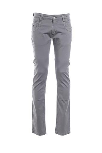 Pantalon casual gris ENERGIE pour homme