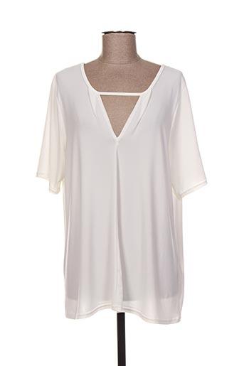 T-shirt manches longues beige DEOMINO pour femme