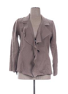 Veste casual marron EVA TRALALA pour femme