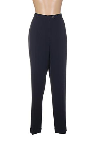 Pantalon chic bleu EX-AEQUO pour femme