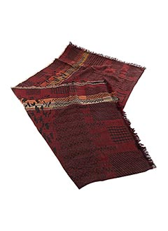 Echarpe rouge PALME pour femme