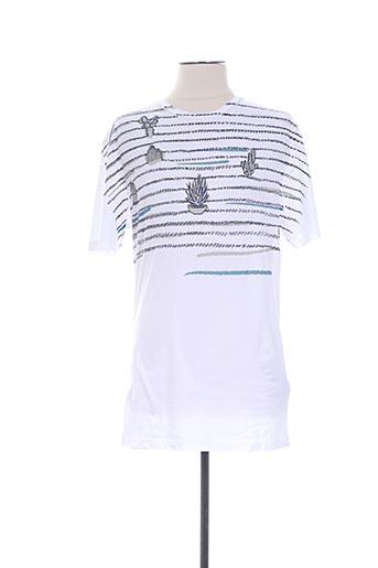 T-shirt manches courtes blanc ANTONY MORATO pour homme