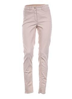 Jeans skinny beige BASLER pour femme
