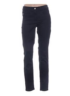 Jeans skinny bleu BASLER pour femme