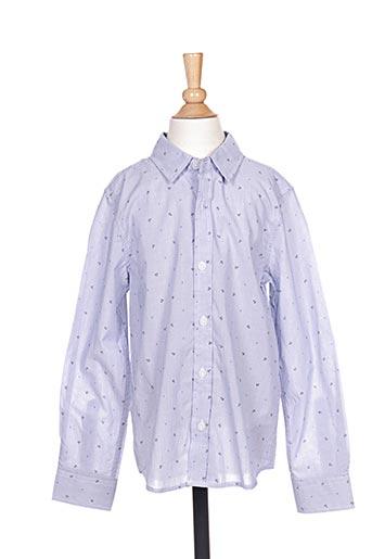 Chemise manches longues bleu NAME IT pour garçon