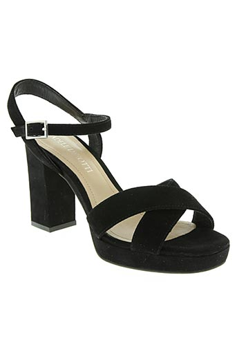 Sandales/Nu pieds noir ADELE DEZOTTI pour femme