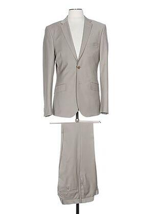 Costume de ville gris IZAC pour homme
