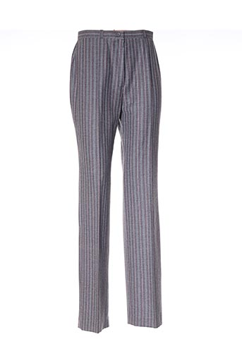 Pantalon casual gris GERARD PASQUIER pour femme
