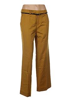 Pantalon chic jaune SCOTCH & SODA pour femme