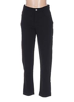 Pantalon casual noir L33 pour femme