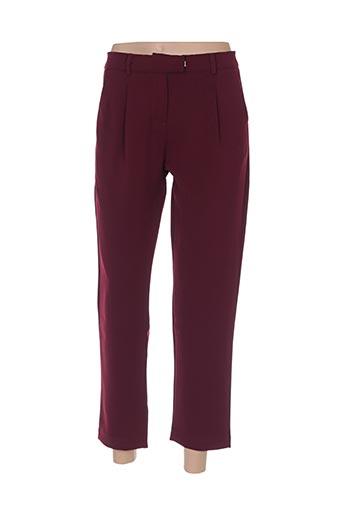 Pantalon casual rouge ANDY & LUCY pour femme