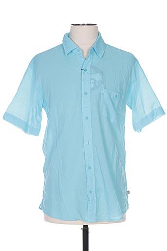 Chemise manches courtes bleu EDWEEN PEARSON pour homme