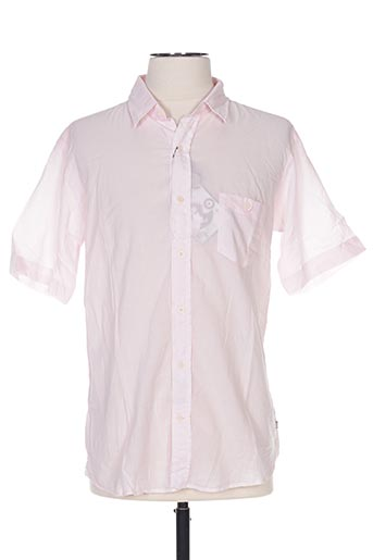 Chemise manches courtes rose EDWEEN PEARSON pour homme