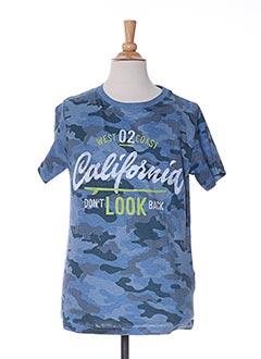 T-shirt manches courtes bleu NUKUTAVAKE pour garçon