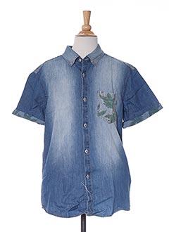 Chemise manches longues bleu NUKUTAVAKE pour garçon