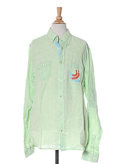 Chemise manches longues vert JN-JOY pour garçon