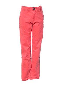 Pantalon casual rouge NUKUTAVAKE pour garçon