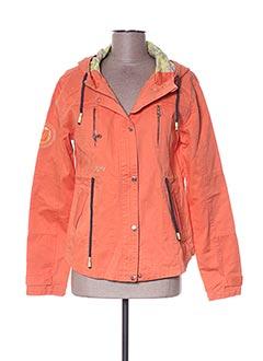 Veste casual orange JN-JOY pour fille