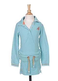 Robe mi-longue bleu JN-JOY pour fille