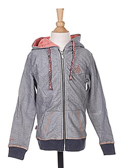 Veste casual gris JN-JOY pour fille