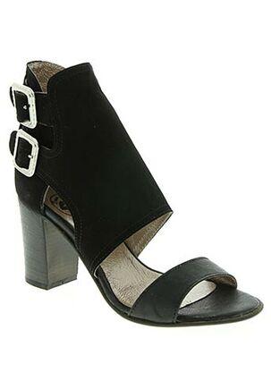 Sandales/Nu pieds noir BISOUS CONFITURE pour femme