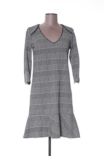 Robe courte gris FIFILLES pour femme