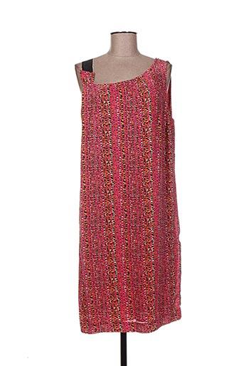 Robe mi-longue rose ATTIC AND BARN pour femme