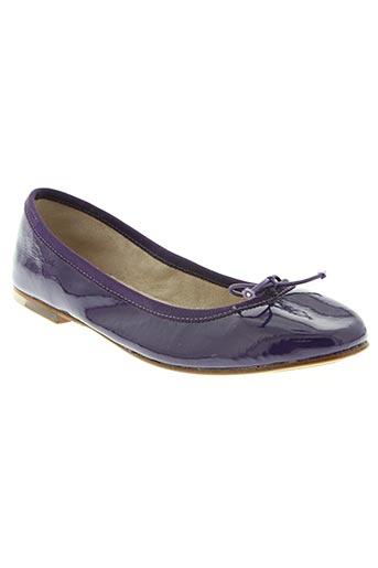 Ballerines violet BLOCH pour femme