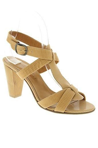 Sandales/Nu pieds beige ANTHOLOGY pour femme