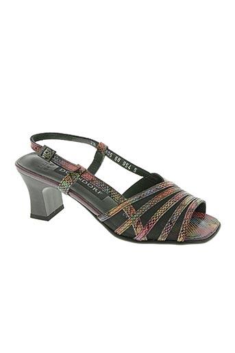Sandales/Nu pieds violet DORNDORF pour femme