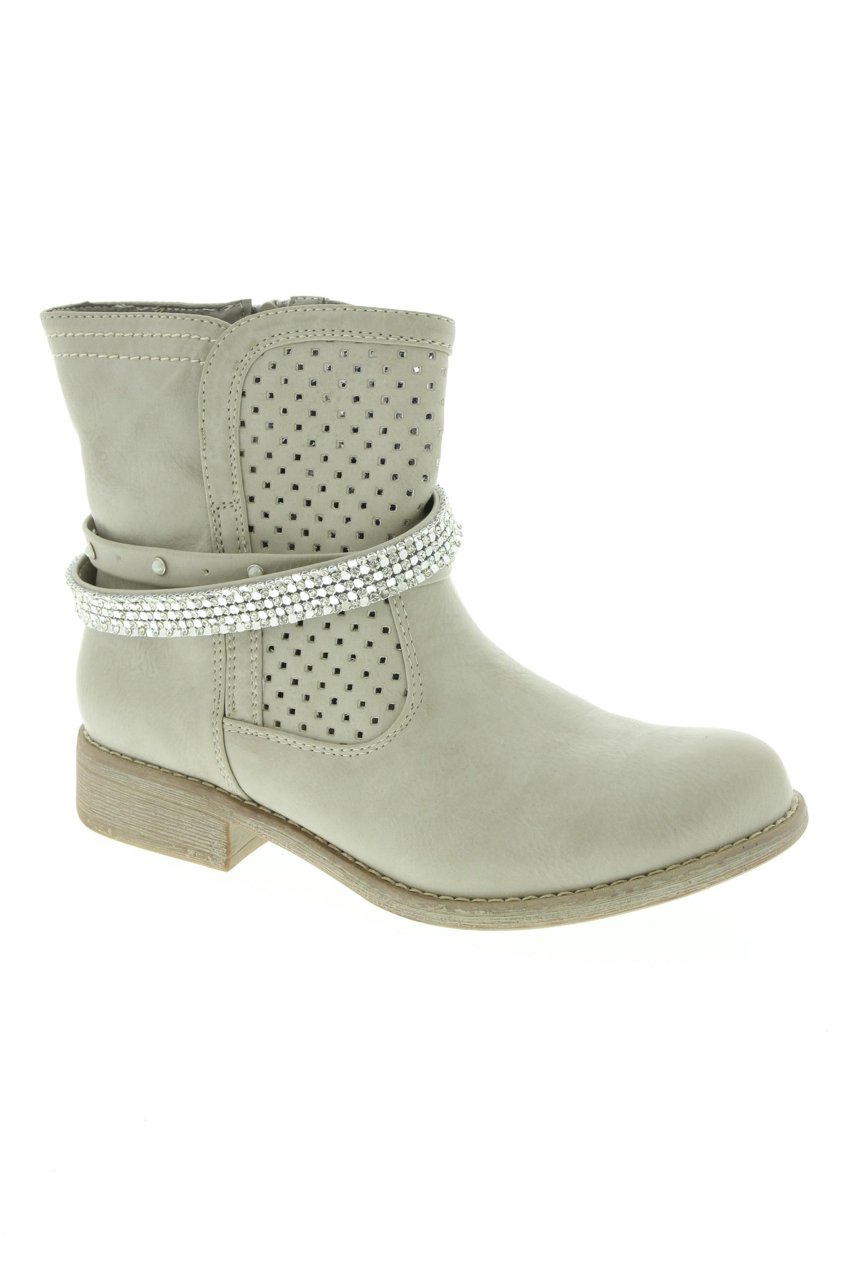 RIEKER Chaussures BottinesBoots de couleur beige en soldes pas cher 1331341 beige0 Modz