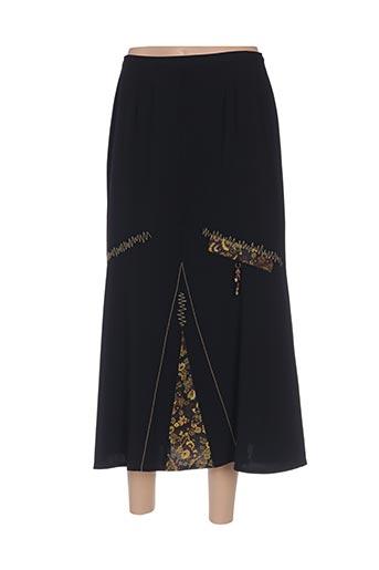 Jupe longue noir ATIAN pour femme